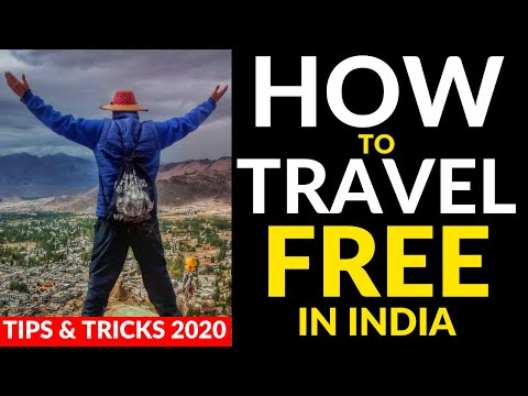 How To Travel Free In India   Tips And Tricks 2020 ( ZERO MONEY )   फ्री में इंडिया कैसे घूमे
