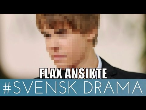 FLAX RÅKAR VISA ANSIKTET