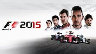 F1 2015 - Gameplay com 3 Câmeras!!! Facecam, Volante e Pedais!