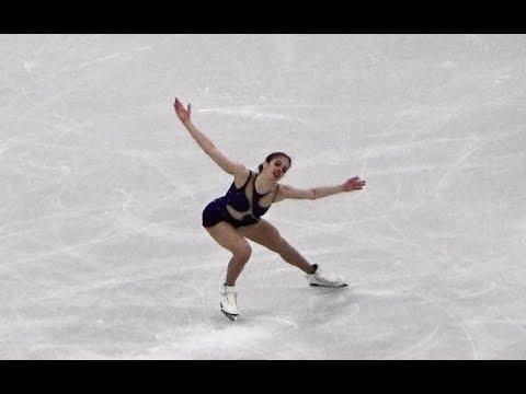 2018 平昌 PyeongChang Carolina Kostner Figure Skating Team Women's Single Free