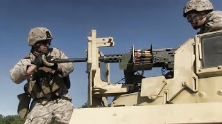 Machine Gun Marines • M2 Browning .50 Caliber