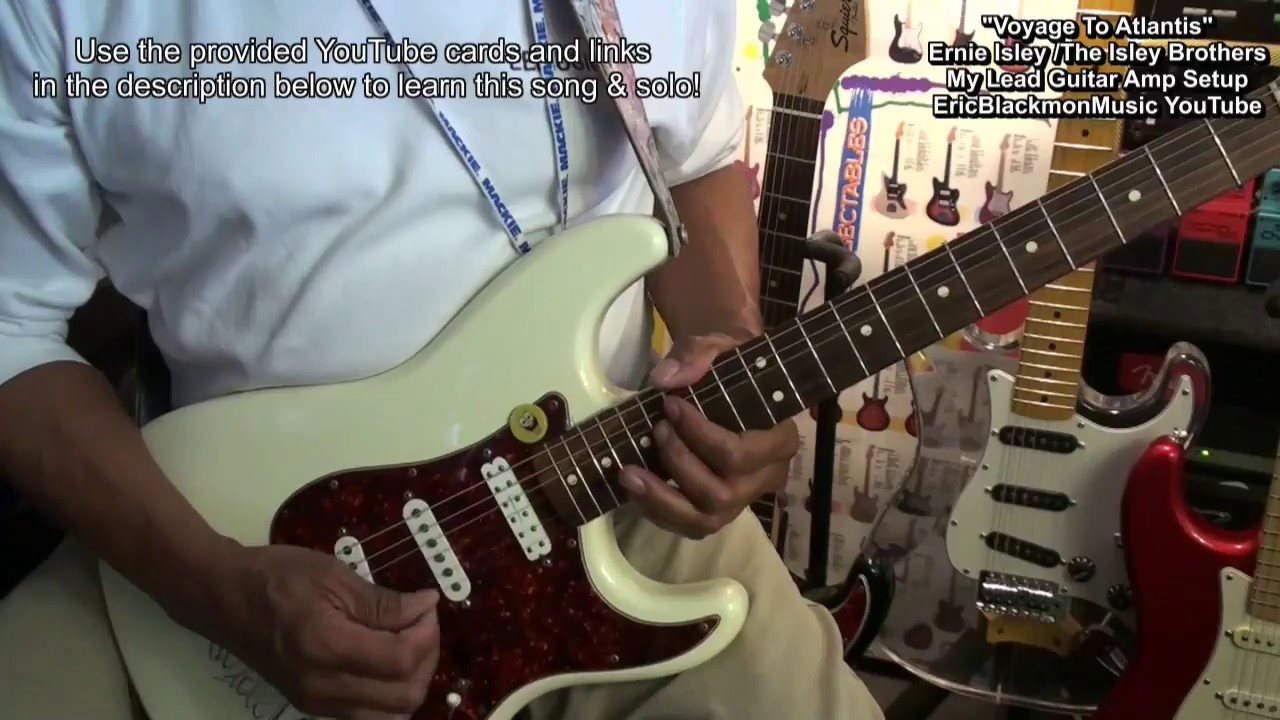 Ernie Isley Style Lead Guitar Amp Solo Minimum Pedal Setup