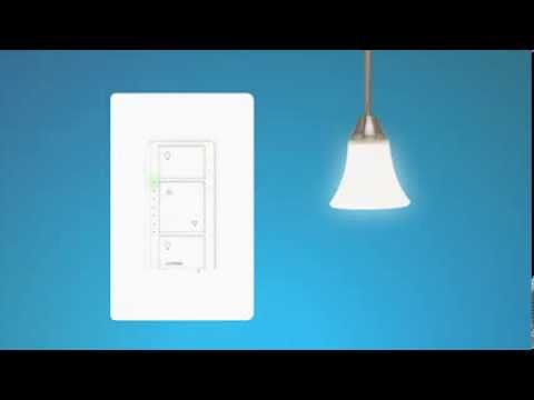 cas ta wireless setting up the in wall dimmer kit youtube. Black Bedroom Furniture Sets. Home Design Ideas