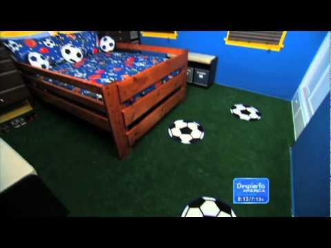 C mo pintar un cuarto de ni os con sus colores favoritos for Decoracion habitacion nina de 6 anos