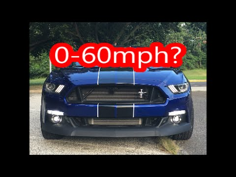 New 0-60 and updated Tune Testing/Data Logging Mustang Ecoboost