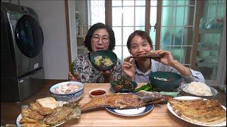 |TẬP 593| NGUYÊN MÂM ĐỒ ĂN NGÀY CÚNG TẾT TRUNG THU!ĂN SẤP MẶT!KOREAN MID AUTUMN FOOD EATING SHOW!!!