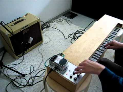 Ginette - DIY instrument based on the ondes Martenot on