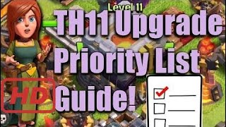 Town Hall 11 - What to Upgrade Next? Clash of Clans - TH11 Upgrade Strategy - New game