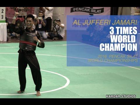 Al Jufferi Jamari | Pencak Silat | World Champion 2016