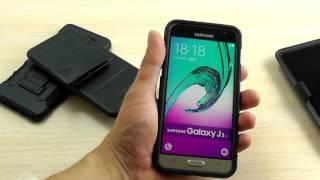 ОБЗОР: Противоударный Чехол-Накладка для Samsung Galaxy A5 (A510) 2016 года с Креплением на Пояс
