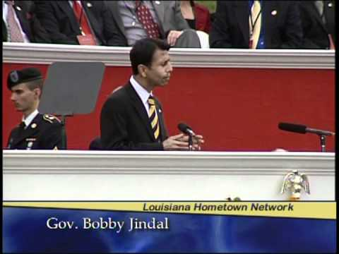Inauguration 2012 Louisiana Governor Bobby Jindal