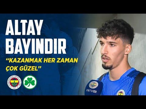 Altay Bayındır'ın Maç Sonu Açıklamaları (Fenerbahçe - Greuther Fürth)