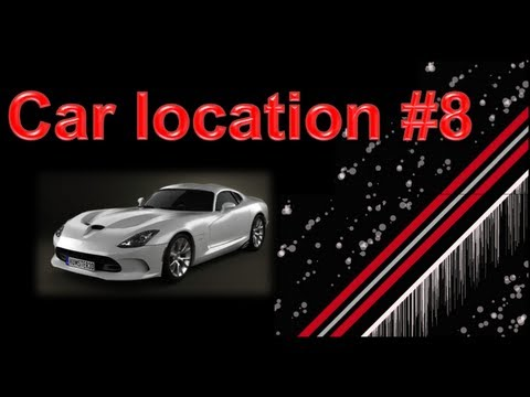 Nfs Most Wanted Srt Viper Gts Car Location Youtube