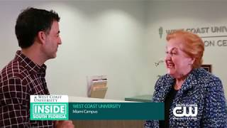 WCU Miami on Inside South Florida :60 - Claudette Spalding Interview