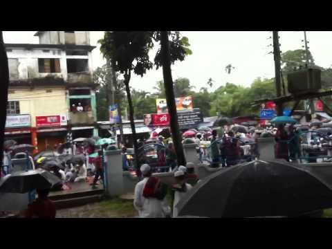 Eid Prayer (Jamaat)  in Rain Shahi Eidgah  Eid-Ul-Fitr 2012 Islam and Muslims in Bangladesh