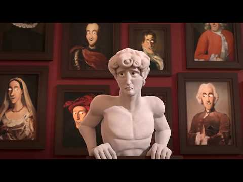 "CGI Animated Short Film HD ""The D in David "" by Michelle Yi and Yaron Farkash 
