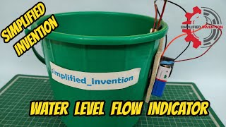 Water Level Flow Indicator  | DIY| Technical Education | Stephen | Ratnesh | Simplified Invention