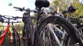 Notiek pārbaudes, lai noteiktu velosipēdu  tehnisko stāvokli