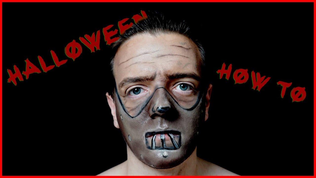 Hannibal Lecter Mask Makeup Tutorial For Halloween Youtube Halloween schweigen der lämmer hannibal lecter mask party kostüm requisiten. hannibal lecter mask makeup tutorial for halloween