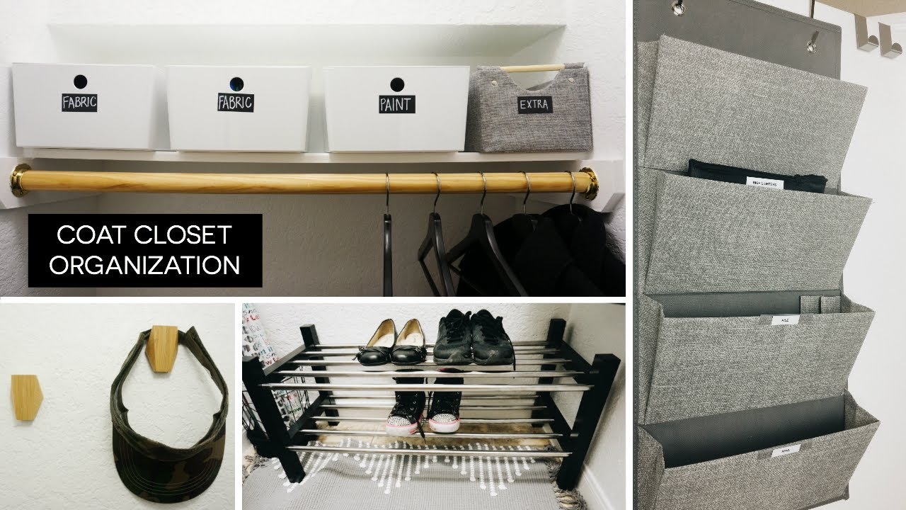 Coat Closet Organization + Before/After | Rescue My Space