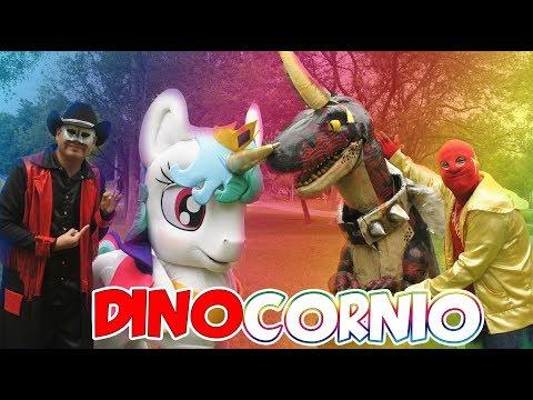 El Dinosaurio es un Unicornio / Manito y Maskarin