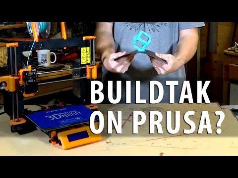 Does A Buildtak Flex Plate Work On A Prusa I3 Mk2?