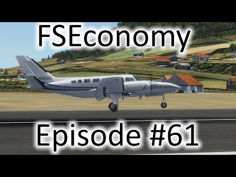 FSX | FSEconomy Ep. #61 - The Titan In the Caribbean | C404