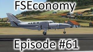 FSX | FSEconomy Ep. #61 - The Titan In the Caribbean | C404