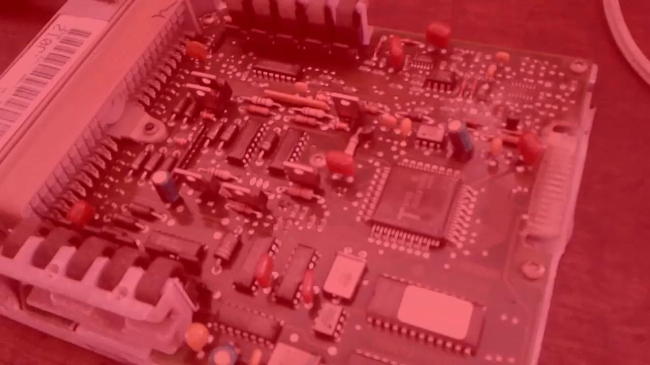 Ford Eec Iv Ecm Capacitor Fix Repair Ecu Pcm Mpfi Project Youtube V Wiring Diagram
