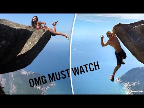 PEOPLE FALLING OFF CLIFFS!! (MUST WATCH)
