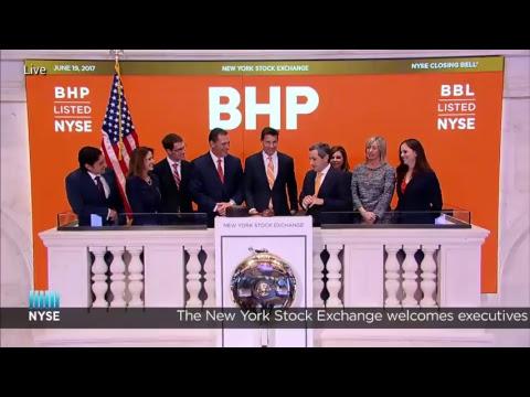 BHP Billiton Limited Celebrates their 30th Anniversary of Listing