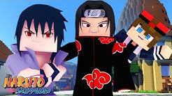 Minecraft : Naruto S - SASUKE E ITACHI UCHIHA ! AMIZADE DE IRMÃO NOVAMENTE ! 12