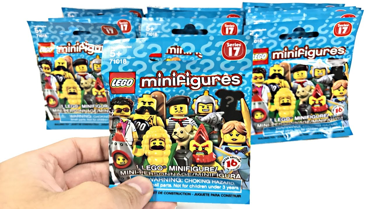 Lego Minifigures Series 17 20 Pack Opening Youtube