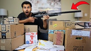 Someone Sent Me MYSTERY Packages Filled With DANGEROUS WEAPONS!! *You Won't Believe It...*