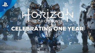 Horizon Zero Dawn Celebrating One Year PS4