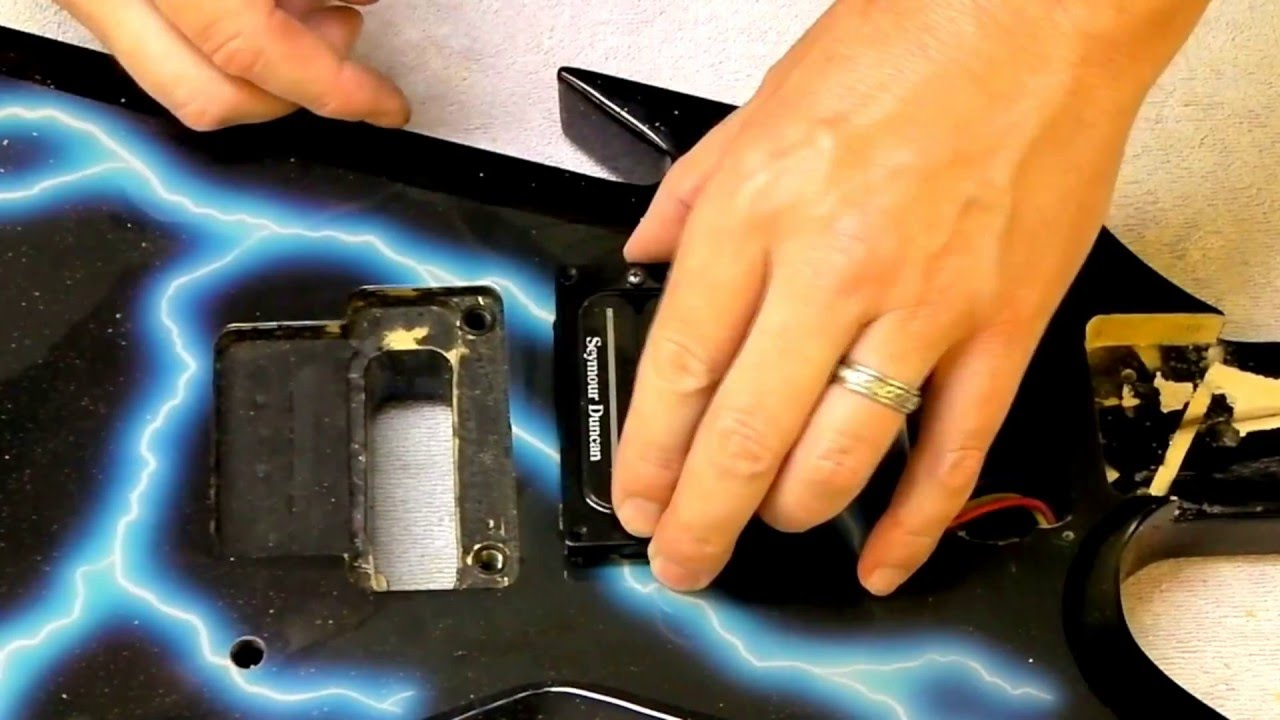 Upgrade Dean Dimebag Lightning Razorback Dimebucker Pickups Cavity Ml Wiring Diagram For Fit