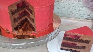 Не классический торт Черный Лес