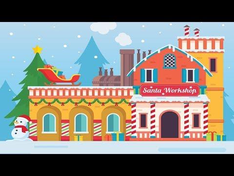 Fun Holiday Music - Santa's Toy Factory