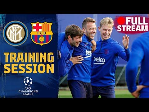 FULL STREAM | Last training session before #BarçaInter