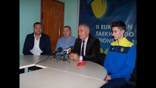 Пресс-конференция Федерации тхеквондо ВТФ Украины