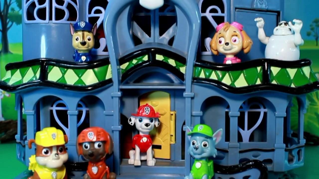 De Paw Cachorros Y The Toys Ghost La Casa Patrol Del Pupsamp; Canina Fantasma Patrulla mN8w0Onyv