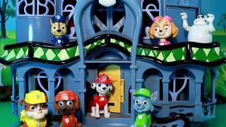 PATRULLA de CACHORROS y la CASA del FANTASMA PATRULLA CANINA PAW PATROL toys PUPS & THE GHOST