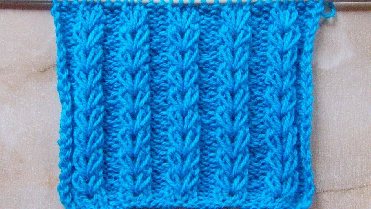 вязание ажурные дорожки видео