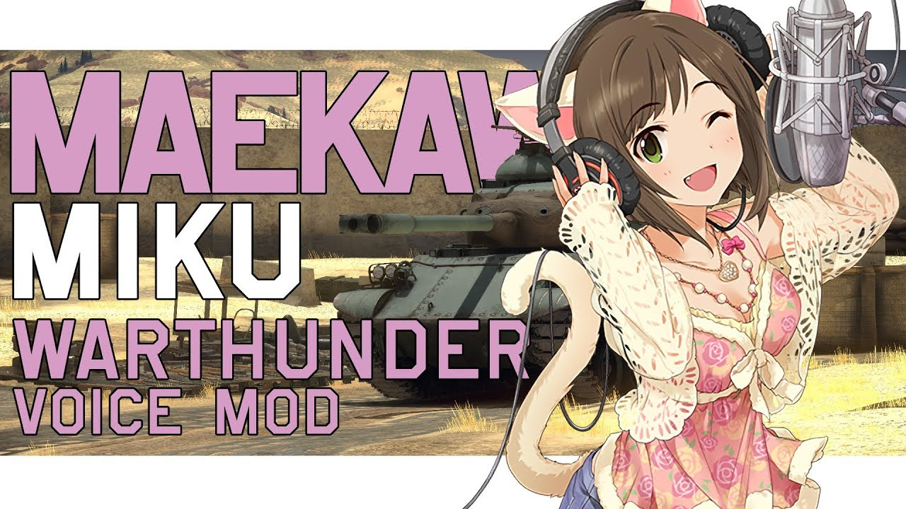 war thunder anime mod