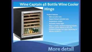 Wine Cooler | Wine Captain 48 Bottle Wine Cooler Hinge | Wine Refrigerator