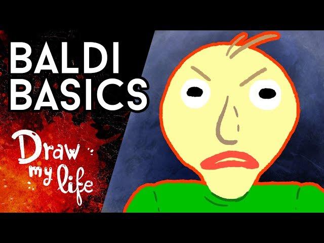 BALDI'S BASIC, el videojuego MALDITO - Draw My Life en Español