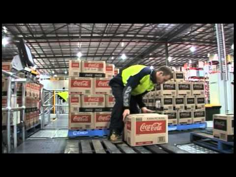 Dematic Beverage Picking at Coca-Cola Amatil