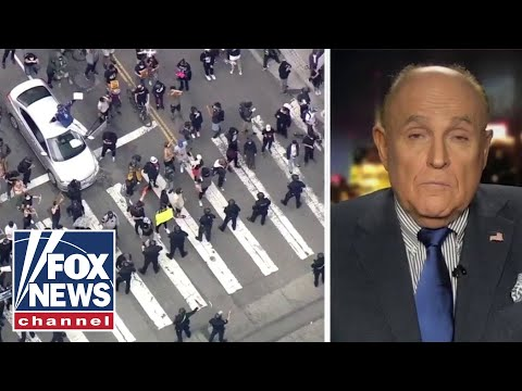 Giuliani sounds off on local leadership as nationwide protests erupt