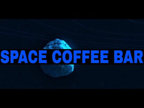 2018. Space Coffe Bar. Art!Document and Ambient by Atlantis)(Spaceship