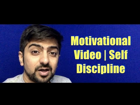 MOTIVATIONAL VIDEO | Self Discipline